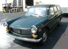1970 Peugeot 404 Pininfarina Wagon Front