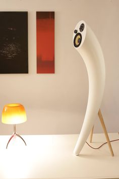 audio speakers, design by Sebastian Barlica