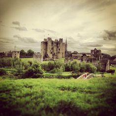 Trim Castle in Trim, Co Meath -If you want to stop at a real castle, this one is inexpensive and you can walk all over the grounds and touch everything