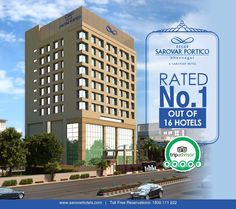 Efcee Sarovar Portico, a sarovar hotel is rated as No. 1 hotel out of 16 hotels in Bhavnagar for its effortlessly efficient services and amenities. It offers guests the refined luxury feel and the best experience with the assurance of quality with best price guarantee, free Wi Fi, never before offers and many more delightful amenities are available. Reservation: +91-2782412222 #BesthotelinBhavnagar #TripAdvisor #NoOneHotel #BoutiqueHotel #LuxuryHotel #EfceeSarovarPortico