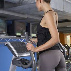 Double Booty Duty: Elliptical Incline Workout