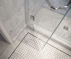 30 great pictures and ideas basketweave bathroom floor tile   Master ...