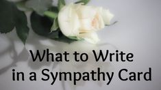 Trying to figure out what to write in a sympathy card? Condolence card messages are difficult to write, but you can find ideas here for words of sympathy to show your condolences to your friend, relative, or loved one. Words For Sympathy Card, Writing A Sympathy Card, Sympathy Notes, Sympathy Messages, Sympathy Sayings, Funeral Card Messages, Funeral Cards, Funeral Prayers, Best Condolence Message