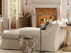 Super Deep Sofa Daybed Thingy Looks Really Comfy Casa Ideal House Idealhouse Stylesrestoration Hardware