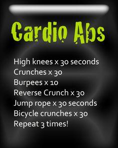 workout routine