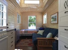 Blue Caboose 30 ft by Tiny Diamond Homes Tiny house Pinterest