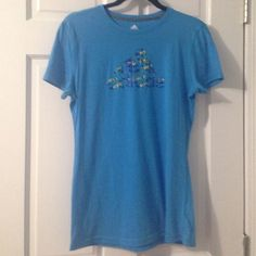 Silky adidas T-shirt Never worn, perfect for the gym or walks, and in great condition. Adidas Tops Tees - Short Sleeve