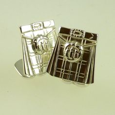 Silver Kilt Cufflinks available only from DS&P Bespoke Jewellery, Ds, Create Yourself, Cufflinks, Container, Jewels, Silver, Design, Home Decor