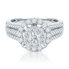 1 17ct tw diamond engagement ring in 14k gold available at helzbergdiamonds - Helzberg Wedding Rings