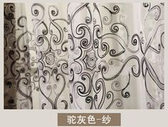 high quality modern luxury window curtains for living room sheer tulle for curtains finished window screening home decoration  #me #perfect #lovelystyle #style #love