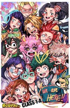 Wholesome Class ❤️ - My hero academia - Anime Boku No Hero Academia Funny, My Hero Academia Shouto, My Hero Academia Episodes, Hero Academia Characters, All Anime Characters, Hero Wallpaper, Cute Anime Wallpaper, App Wallpaper, Deku Anime