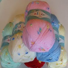 200g of the Gorgeous Alize Baby Flower knitting and Crochet for only £5.25 at The Knitting Wool Store http://www.the-knitting-wool-store.com/alize-baby-flower-200g.html