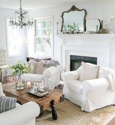 Awesome farmhouse living room ideas (12)