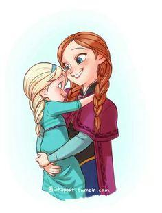 Babys Elsa and Anna Cute-Frozen Frozen Fan Art, Frozen And Tangled, Disney Princess Frozen, Frozen Movie, Disney Princess Drawings, Elsa Frozen, Disney Drawings, Frozen Anime, Frozen Queen