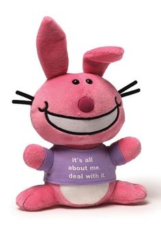 Happy Bunny It's All About Me Doll