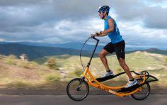 La prima bici ellittica.