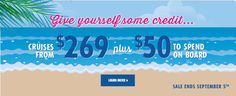 Book #Carnival #Cruises at http://www.gobooktrips.com Rates From $269 with $50 OBC