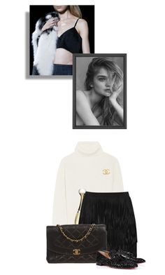 """-intelligence without ambition is a bird without wings-"" by cherrygummybear21 ❤ liked on Polyvore featuring moda, Proenza Schouler, Christian Dior, Alice + Olivia, Chanel y Christian Louboutin"