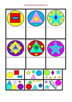 Fall Preschool Activities, Free Preschool, Preschool Printables, Visual Perception Activities, K Crafts, Montessori Materials, Creative Teaching, Preschool Worksheets, Kids Education