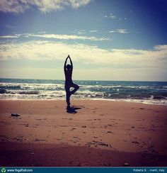 """Anywhere #Yoga Contest - win an iPhone 5: """"Tree Pose - by Roberta S."""""""
