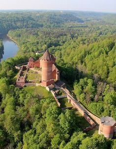 Sigulda, Latvia   Step into the Middle Ages at the Turaida Castle, a restored 13th-century red-brick castle. For a bonus thrill, fly down Sigulda's world-class bobsled track, which has hosted four World Championship races.