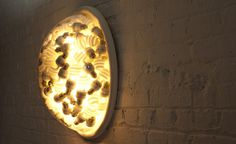 'belly wall lamps' by al-hamad design  CFL lamp