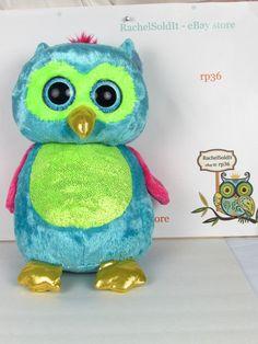 dceaab7bd4d Ty Beanie Boo Large Opal The Owl 16