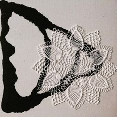 White lace crochet doily, Iris table topper, lace centerpiece, wedding table decor, delicate fine crochet doily, 10 inches of diameter by EstersDoilies on Etsy