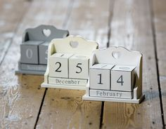 Shabby Chic Wooden Perpetual Calendar Date Blocks Heart Detail Cream Grey White FOR SALE • £5.99 • See Photos! Money Back Guarantee. Designed by: Just Template IT Returns  Delivery  Terms  Contact Us  About Us  Home Sue Ryder Freephone : 0800 917 8123 White/Grey/Cream Perpetual Calendar Blocks Description About Us Delivery Returns --> 272625975206