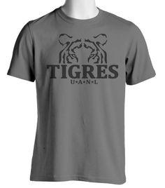 Tigres de Monterrey UANL Mexico Futbol Soccer T Shirt - Tigres U.A.N.L - Yellow