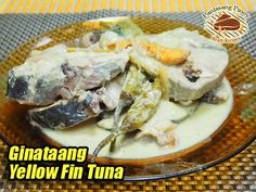This yellow fin tuna dish is very easy to cook because you only have to combine all the ingredients in a pot. #YellowFinTuna #GinataangTuna Tuna Dishes, Yellowfin Tuna, Pinoy Food, Filipino, Fish Recipes, Cooking, Easy, Kitchen, Brewing