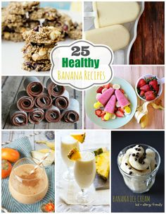 Check out these 25 healthy banana recipes that satisfy!