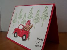 Loads of Love (Stampin' Up) Birthday Card