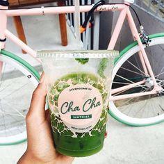 Best Restaurant Instagram Accounts To Follow Cha Cha Matcha Iced Latte