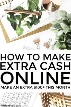 Find out how you can make an extra $100 or more each month. These are really simple ways to make extra income each month in the comfort of your own home.