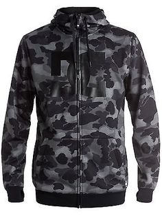 Dc #camouflage lodge grey snowstar #snowboarding zip #hoody,  View more on the LINK: http://www.zeppy.io/product/gb/2/282226987361/