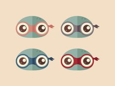 Teenage Mutant Ninja Turtles designed by Laura Trouiller 🐅. Teenage Mutant Ninja Turtles, Tmnt, Pretty Pictures, My Childhood, Byron Bay, Illustration, Fictional Characters, Style, Cute Pics
