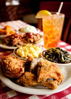 Southern cooking at the Loveless Cafe in Nashville, TN