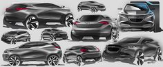 Chevy Sketches on Behance