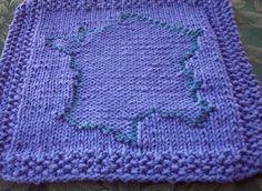 Free Knitting Pattern - Dishclothes & Washcloths : France Cloth