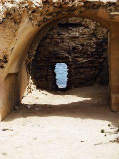 Passageway at Sabratha, Libya