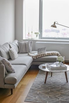 """I've shown a few behind the scenespics and videos on my Instagram Stories, but I'm so happy my living room in my new apartment is (pretty much) complete! This apartment is my first """"grown up"""" place, which is not a share apartment or at my Mum's house, and as a result I've really enjoyed decorating …"""