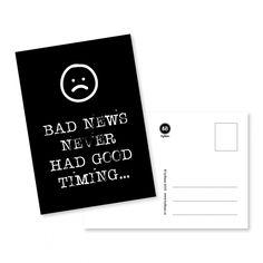 A6 kaartje. Op 350 grams papier. Kaartje Kusje komt zo! Kaartje uit de stamp quote serie van byBean. Leuk met washi tape aan de muur, maar versturen mag natuurlijk ook!
