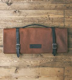 Leather Knife Roll by Hardmill on Scoutmob