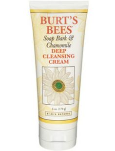 Burt's bees soap bark and camomile deep cleansing cream - this is the BEST cleansing cream I have - just a dime size amount and it smells like lemon that I've never known - makes your face feel refreshed and your senses invigorated - love Berts Bees <3