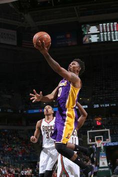 """Nick Young – Air Jordan 5 """"Lakers"""""""