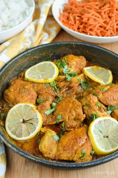 Slimming Eats Syn Free Lemon Chilli Chicken - gluten free, dairy free, paleo, Slimming World and Weight Watchers friendly Slimming World Dinners, Slimming World Recipes Syn Free, Slimming Eats, Slimming Word, Diet Recipes, Chicken Recipes, Cooking Recipes, Healthy Recipes, Savoury Recipes