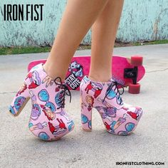 Iron Fist Clothing #shoes #harajuku - SHOES or anything from IRON FIST... Addictions...