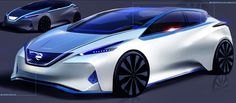 Nissan concept sketch
