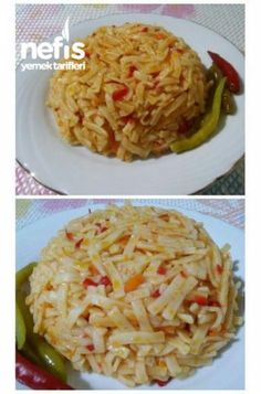 Make Green, Rice A Roni, Turkish Kitchen, Fried Onions, Middle Eastern Recipes, Healthy Side Dishes, Iftar, Turkish Recipes, Noodles